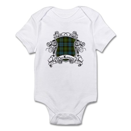 MacKenzie Tartan Shield Infant Bodysuit