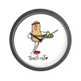 Tennis Nut Wall Clock