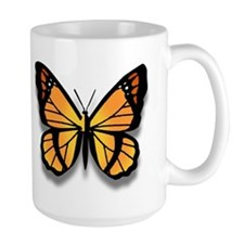 Large Monarch Butterfly Mug