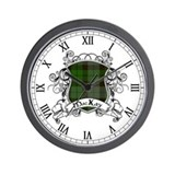 MacKay Tartan Shield Wall Clock