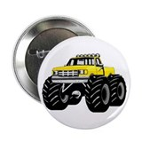 "Yellow MONSTER Truck 2.25"" Button (10 pack)"