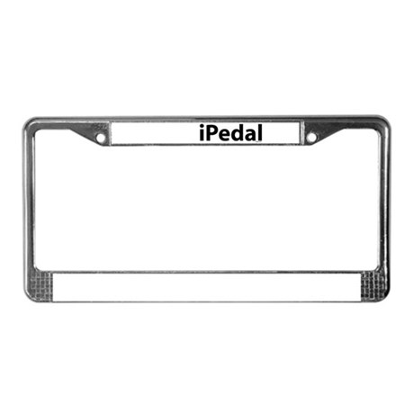 iPedal License Plate Frame