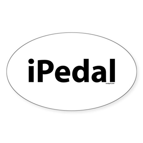 iPedal Oval Sticker