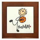 Basketball Framed Tile