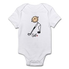 Golf Stick Figure Infant Bodysuit