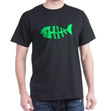 Fishbones Black T-Shirt