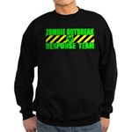 Zombie Outbreak Response Team Sweatshirt (dark)