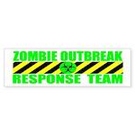 Zombie Outbreak Response Team Sticker (Bumper 10 p