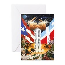 NEW!!! PUERTO RICAN PRIDE Greeting Cards (Pk of 20