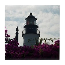 Key West Lighthouse Tile Coaster