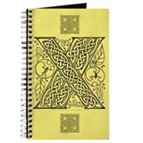 Celtic Letter X Journal