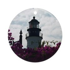 Key West Lighthouse Ornament (Round)