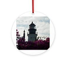Key West Lighthouse Ornament (Round)