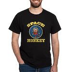 Space Monkey Black T-Shirt