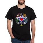 Celtic Pentagram Black T-Shirt