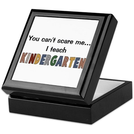 Teach Kindergarten Keepsake Box