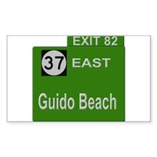 Parkway Exit 82 Rectangle Decal