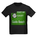 Parkway Exit 82 Kids Dark T-Shirt