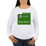 Parkway Exit 82 Women's Long Sleeve T-Shirt