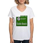 Parkway Exit 82 Women's V-Neck T-Shirt