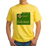 Parkway Exit 82 Yellow T-Shirt