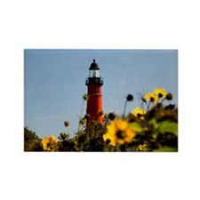 Ponce Inlet Lighthouse Rectangle Magnet (10 pack)