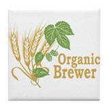 Organic Brewer Tile Coaster