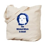 Wicked Witch is Dead (blue) Tote Bag