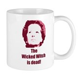 Wicked Witch is Dead (red) Coffee Mug