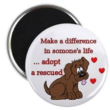 """Make a Difference"" Magnet"
