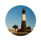 Tybee Island Lighthouse 3.5&amp;quot; Button