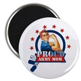 Rosie Proud Army Mom Magnet