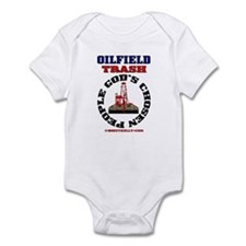 Oil field Trash God's Chosen Infant Bodysuit