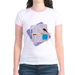 Rainbow Archer Jr. Ringer T-Shirt