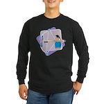 Rainbow Archer Long Sleeve Dark T-Shirt