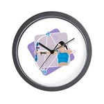Rainbow Archer Wall Clock