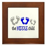 THE MIDDLE CHILD Framed Tile