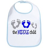 THE MIDDLE CHILD Bib