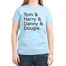 Tom & Harry & Danny & Dougie. T-Shirt