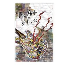 The Art of Music Postcards (Package of 8)