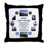 Cute Spring point Throw Pillow