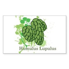 Humulus Lupulus II Rectangle Decal