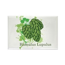 Humulus Lupulus II Rectangle Magnet