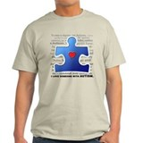 I Luv Someone w/ Autism (T-Shirt)