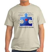 I Luv Someone w/ Autism (T-Shirt)