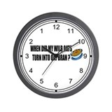 Wild Oats Wall Clock