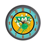 Bowling Alley Wall Clock