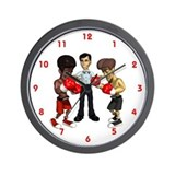 Boxing Ring Wall Clock