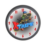 Extreme Skateboarding Wall Clock