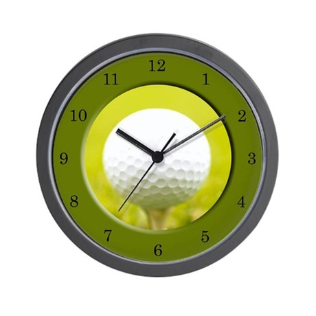 Golf Wall Clock